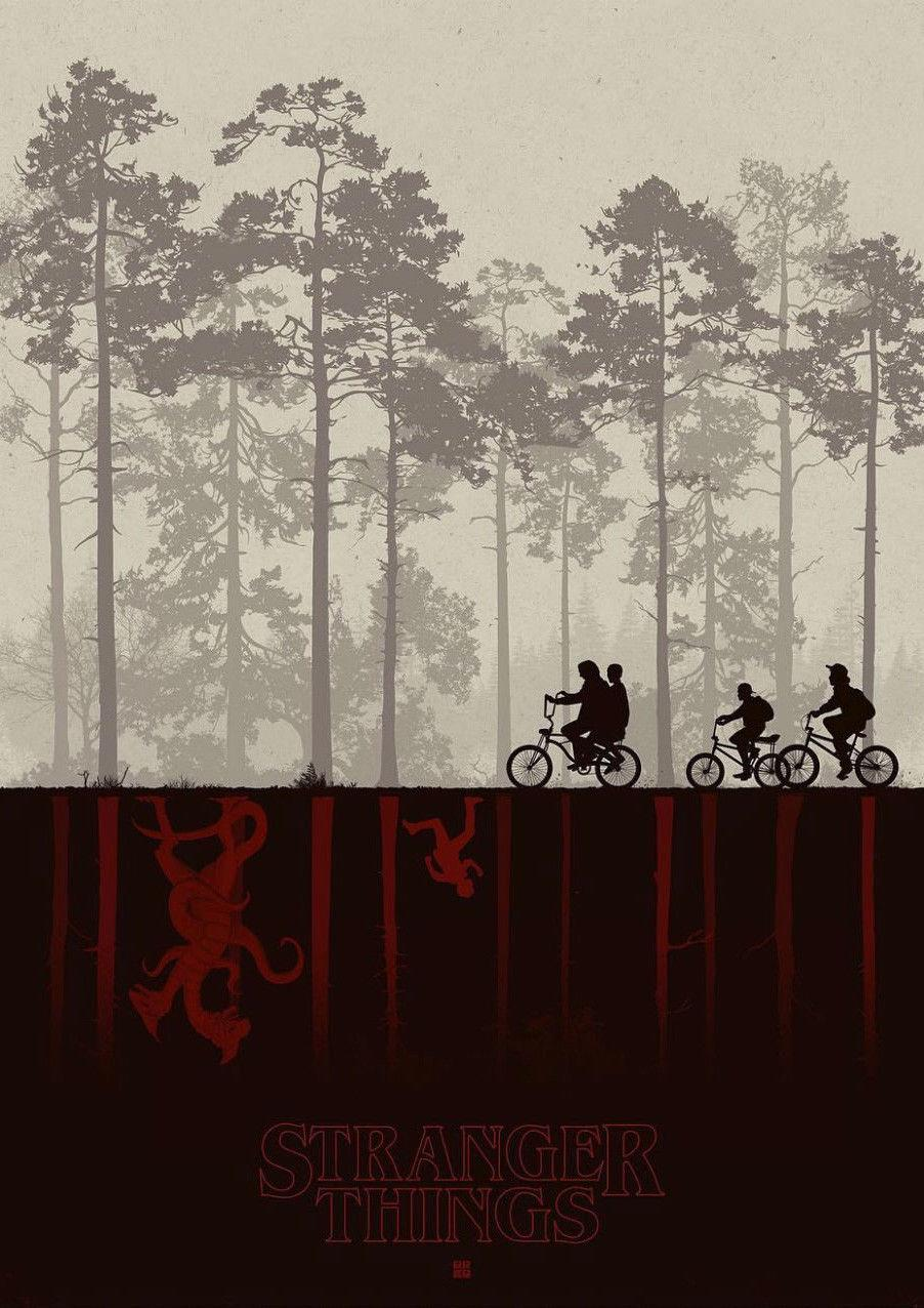 canvas-stranger-things-tv-series-art-silk